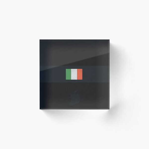 Republic of Ireland Acrylic Block