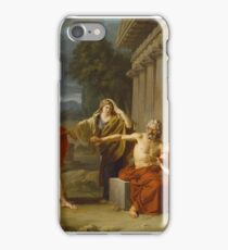 Oedipus at Colonus ,  Jean Antoine Theodore Giroust (French iPhone Case/Skin