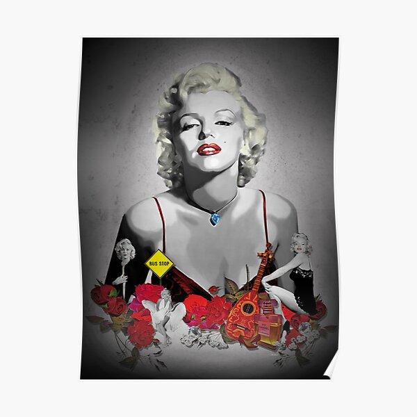 MARILYN_BLACK Poster