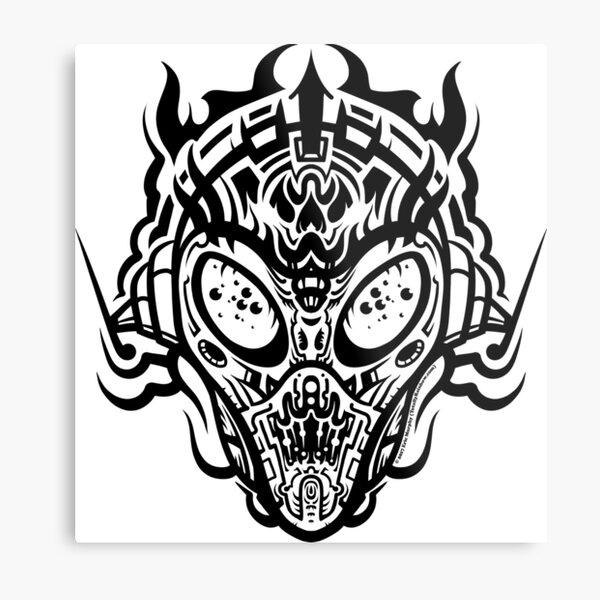 Stranger Still Metal Print