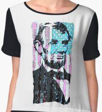 Abraham Lincoln Women's Chiffon Top