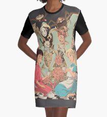 Wonderlands Graphic T-Shirt Dress