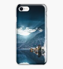 hallstatt in austrian alps iPhone Case/Skin