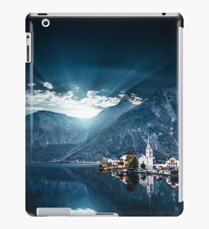 hallstatt in austrian alps iPad Case/Skin