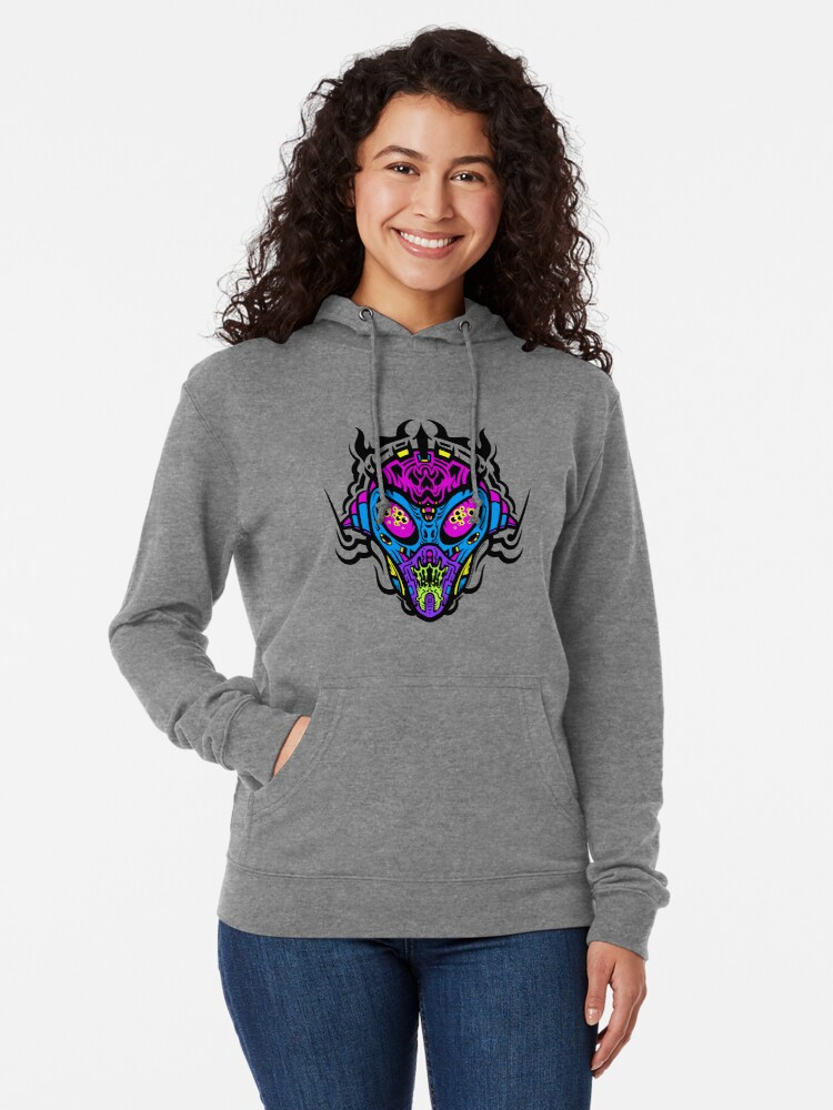 Alternate view of Stranger Still - The Pretty Colors Lightweight Hoodie