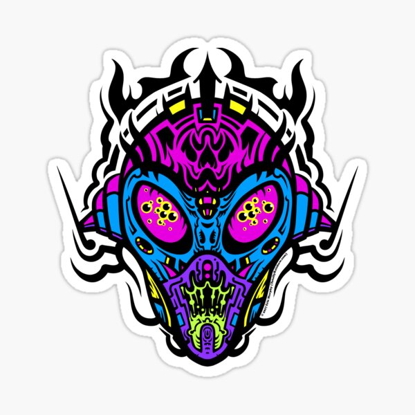 Stranger Still - The Pretty Colors Sticker