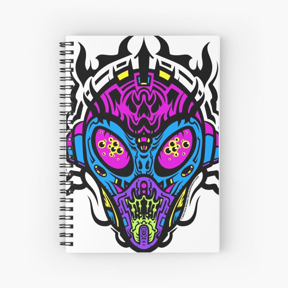 Stranger Still - The Pretty Colors Spiral Notebook