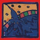 BLUE DOG JUMP POOL by SofiaYoushi