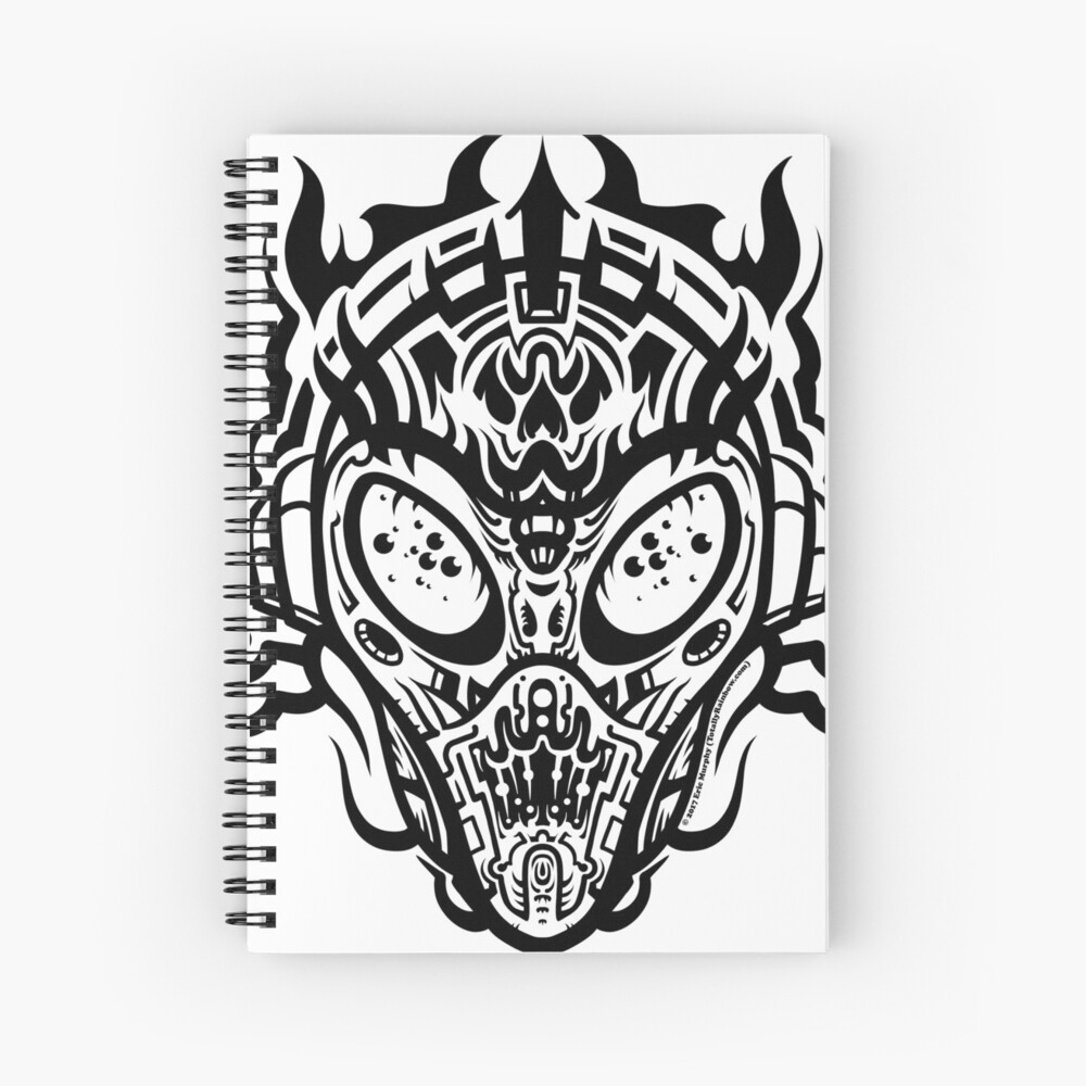 Stranger Still Spiral Notebook