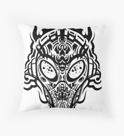 Stranger Still Throw Pillow