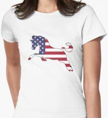 American Flag – Horse T-Shirt