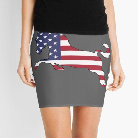 American Flag – Horse Mini Skirt