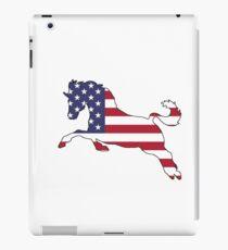 American Flag – Horse iPad Case/Skin