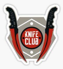 CSGO Knife Club - Flip Knife Sticker