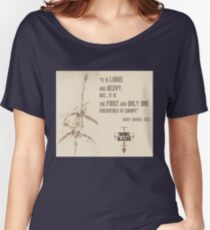 """First And Only"" Mary Anning quote Women's Relaxed Fit T-Shirt"