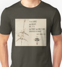 """""""First And Only"""" Mary Anning quote T-Shirt"""