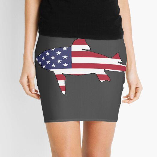 American Flag – Shark Mini Skirt