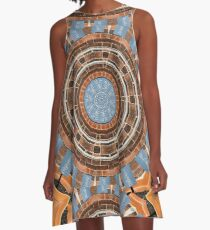 Plant Pots and Poetry A-Line Dress
