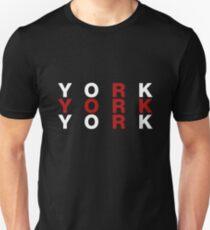 York United Kingdom Flag Shirt - York T-Shirt Unisex T-Shirt