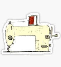 Sewing machine Sticker