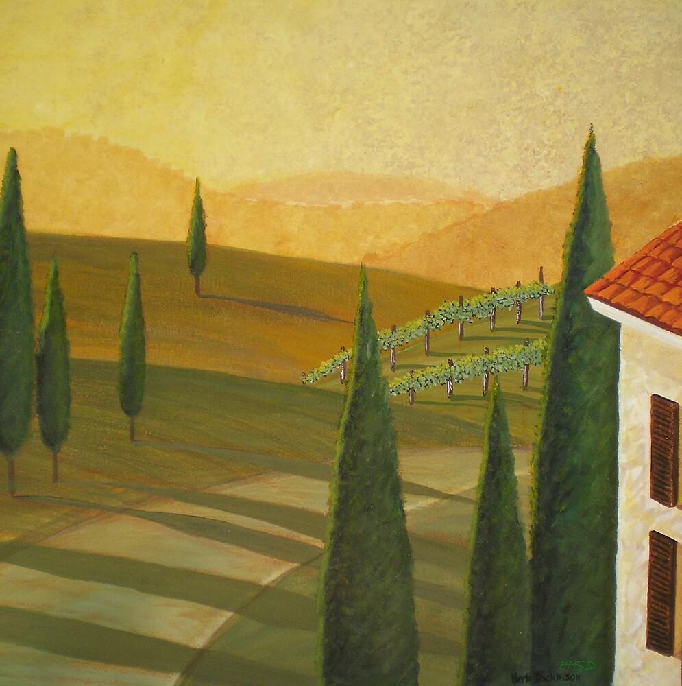 Tuscany Vinnicola I by Herb Dickinson