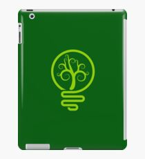 Smart green iPad Case/Skin