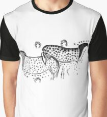 Dappled Horses of Pech Merle Graphic T-Shirt