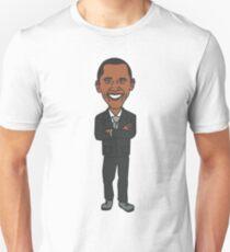 Barack Obama T-Shirt - Cartoon Barack Obama Unisex T-Shirt