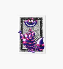 Cheshire Cat (Alice in Wonderland) Art Board