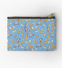 Bolso de mano geckos de gemelos en azul