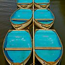 Blue boats by jimf66