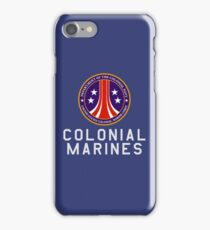 Colonial Marines : Inspired by Aliens iPhone Case/Skin