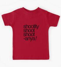 Shootity Shoot Shoot ANYA! Kids Tee