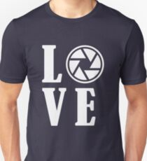 Funny Photographer Design - Love T-Shirt