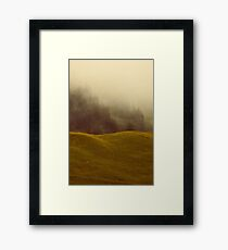 FADING FAITH Framed Print