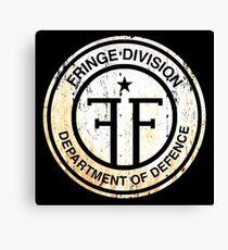 Fringe Division : Inspired by Fringe Canvas Print