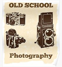 Old School Photography Design Poster
