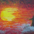 The Sun Worshipper by George Hunter