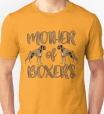 Mother Of Boxers Design T-Shirt