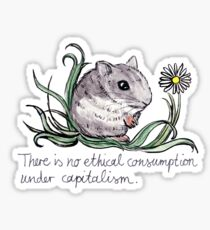 Communist Hamster Sticker