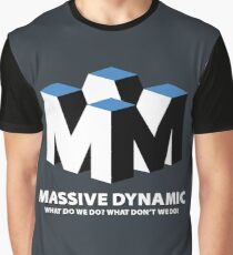 Massive Dynamic : Inspired by Fringe Graphic T-Shirt