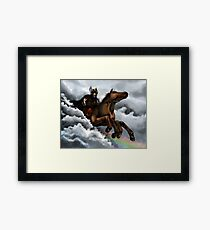 Sleipnir Framed Print