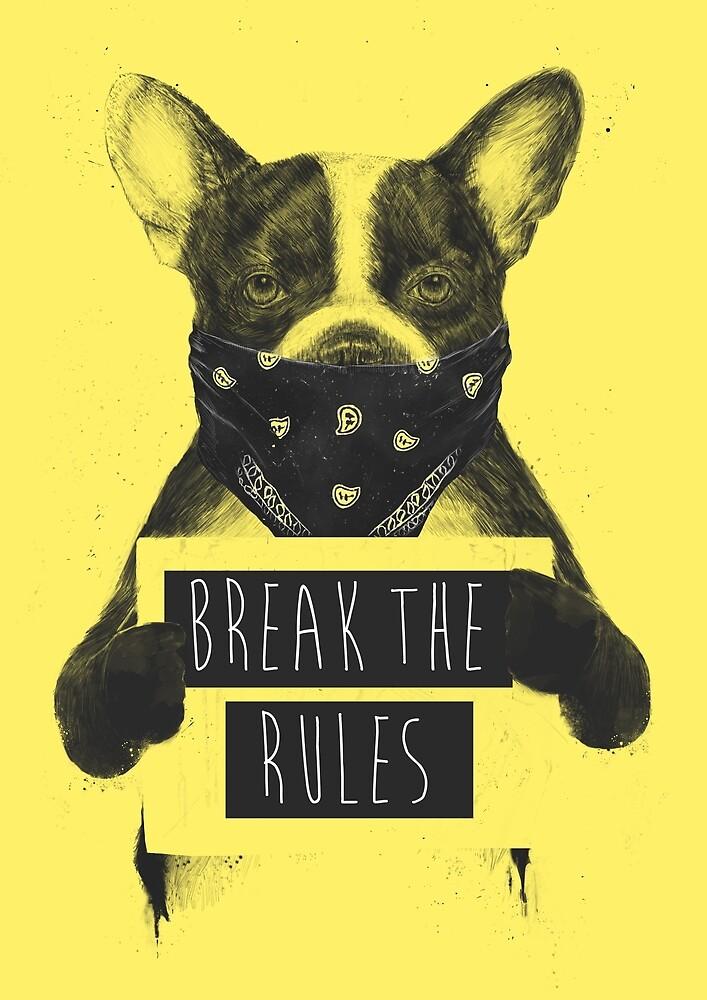 Rebel dog (yellow) by soltib