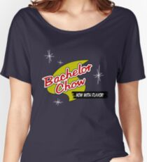 Bachelor Chow : Inspired by Futurama Women's Relaxed Fit T-Shirt