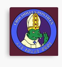 The Space Pope : Inspired by Futurama Canvas Print