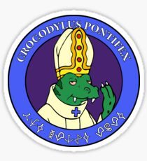The Space Pope : Inspired by Futurama Sticker