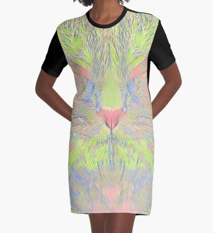 Catishhhhh Graphic T-Shirt Dress