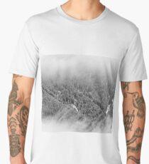 Crisp winter forest dreams Men's Premium T-Shirt