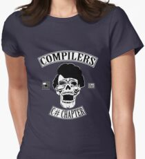 Compilers Color Parody Womens Fitted T-Shirt