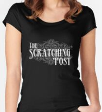 The Scratching Post : Inspired by iZombie Women's Fitted Scoop T-Shirt
